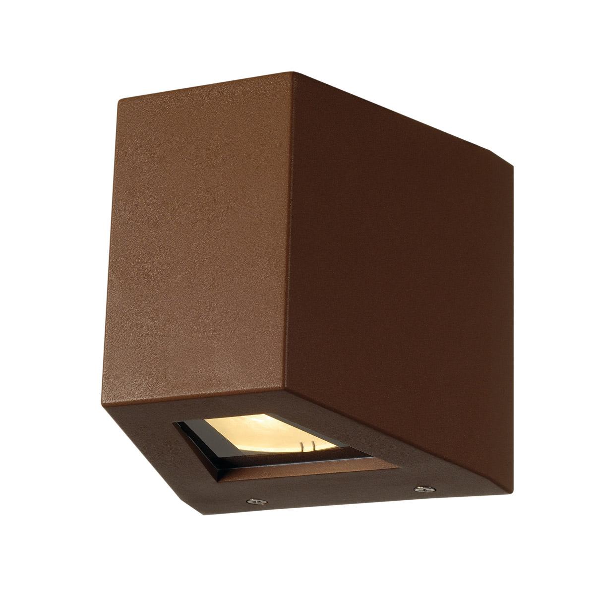 1 Stk OUT BEAM LED Wandleuchte, rostfarben LI229667--