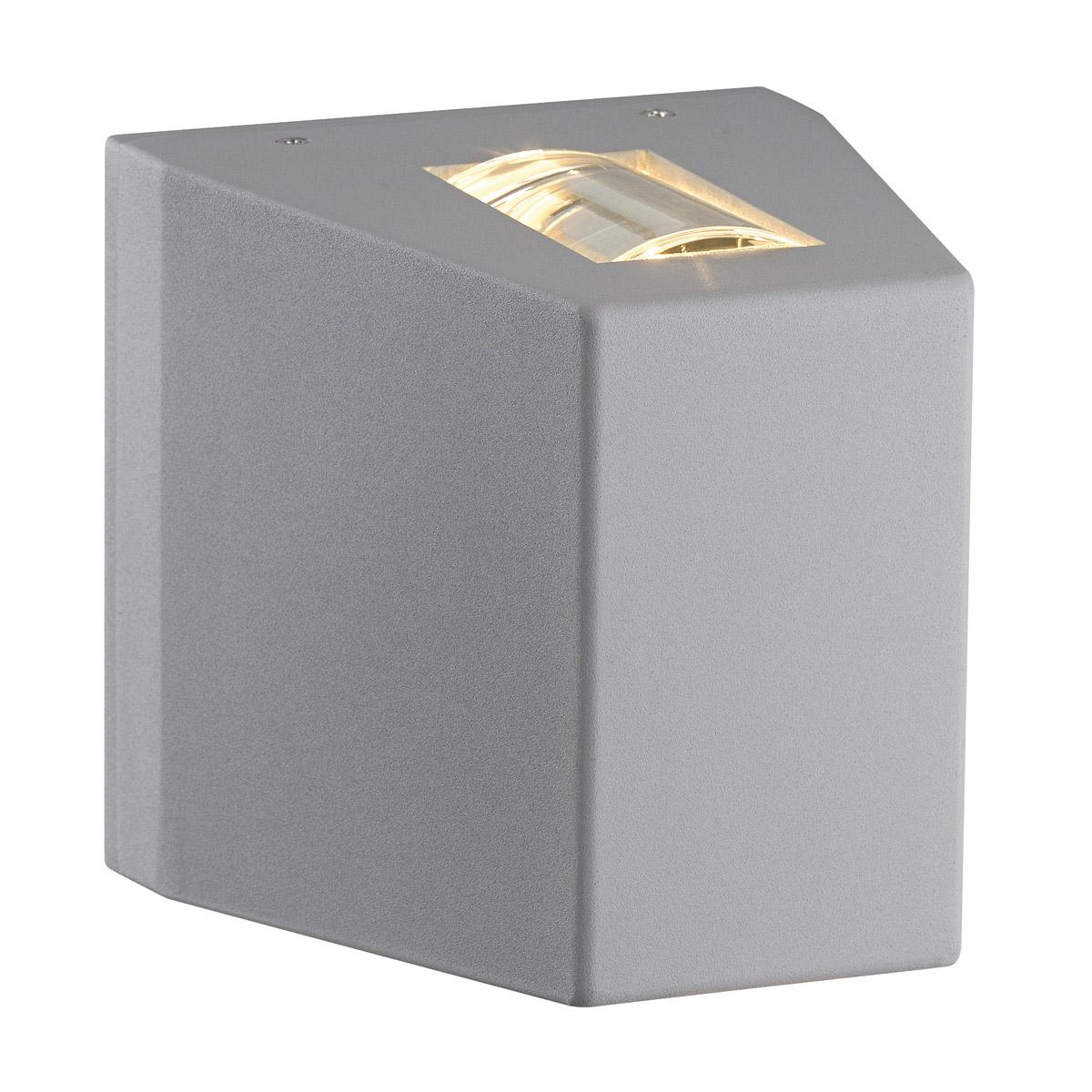 1 Stk OUT BEAM LED Wandleuchte, silbergrau, NUR BEAM LI229684--