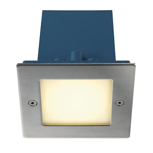 1 Stk FRAME OUTDOOR 16 LED Wandeinbaul 3000K quadratisch Edelstahl LI230132--
