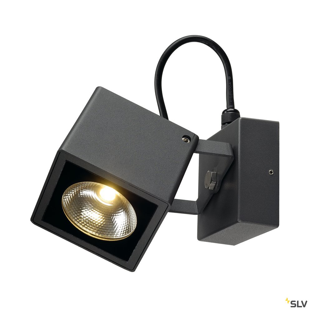 1 Stk BIG NAUTILUS SQUARE LED Wandl., 12W, 3000K, eckig, antzrazit LI231055--