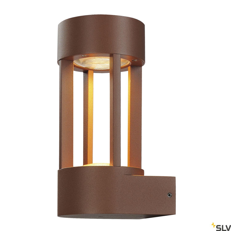 1 Stk SLOTS WALL, 6,3W LED, warmweiß, rostfarben LI231807--