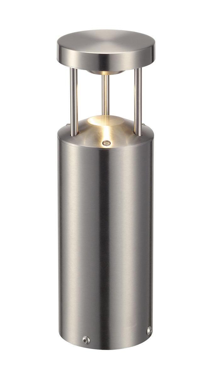 1 Stk VAP LED 30 Stehleuchte, 9W LED, 3000K, rund, Edelstahl 316 LI231893--