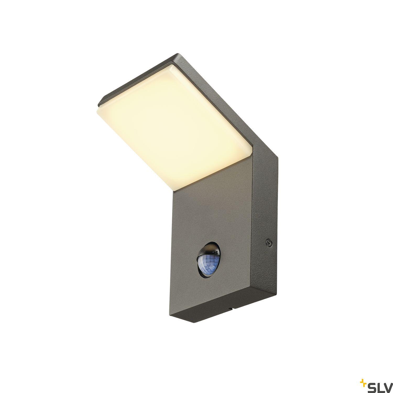 1 Stk ORDI LED Wandleuchte, 3000K, anthrazit, mit Sensor LI232915--