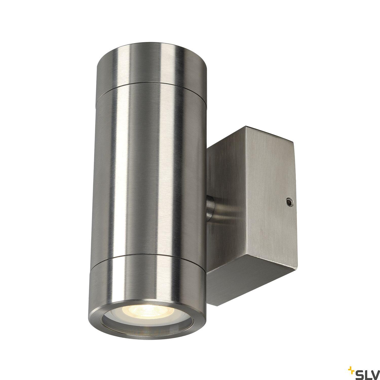 1 Stk Anista Steel GU10 UP/DOWN Wandl., GU10, 2x35W, Edelstahl 304 LI233302--