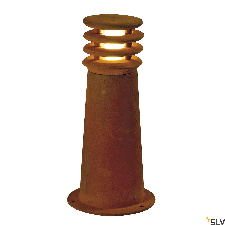 1 Stk RUSTY 40 LED ROUND, Außenleuchte 3000K IP55, eisen gerostet LI233407--