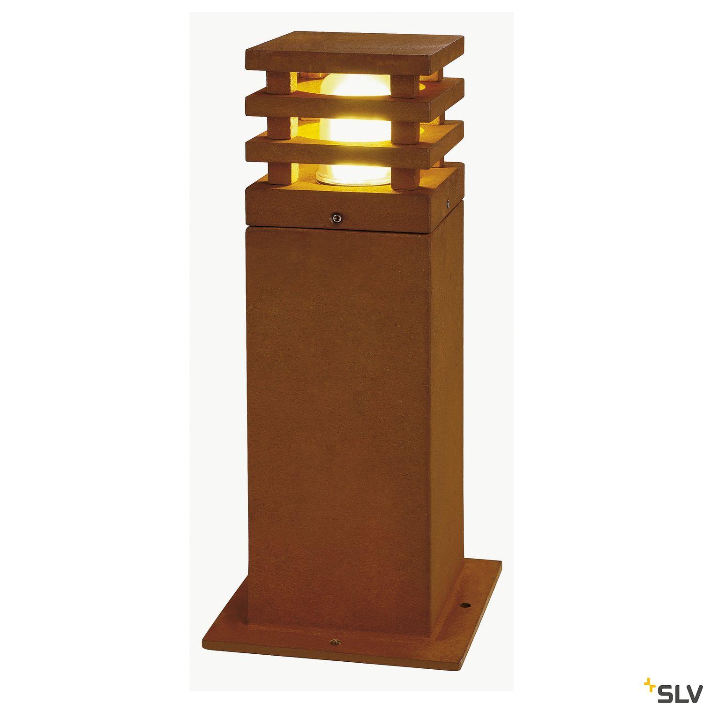 1 Stk RUSTY 40 LED SQUARE Außenleuchte 3000K IP55, eisen gerostet LI233427--