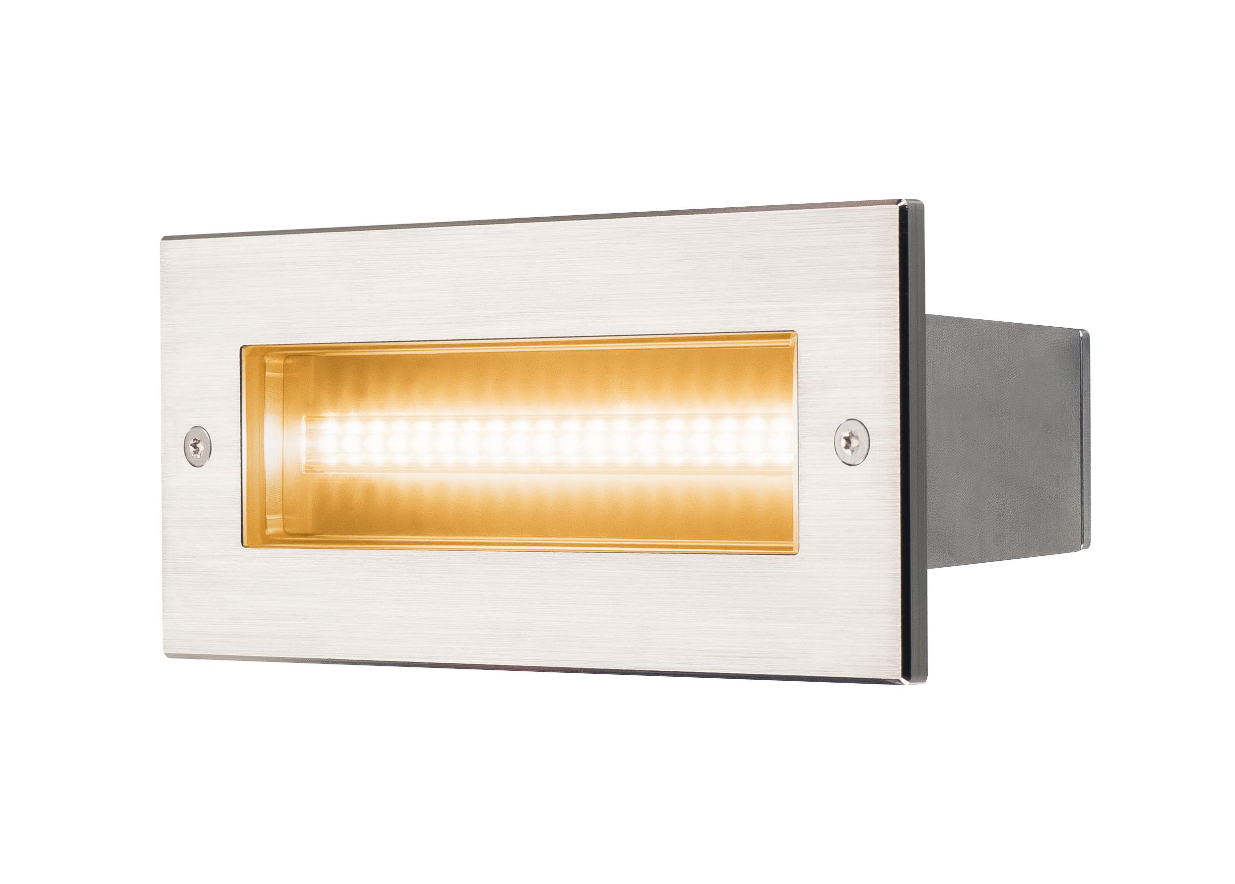 1 Stk BRICK Pro LED, Outdoor Wandeinbauleuchte, 230V, IP67, 950lm LI233651--