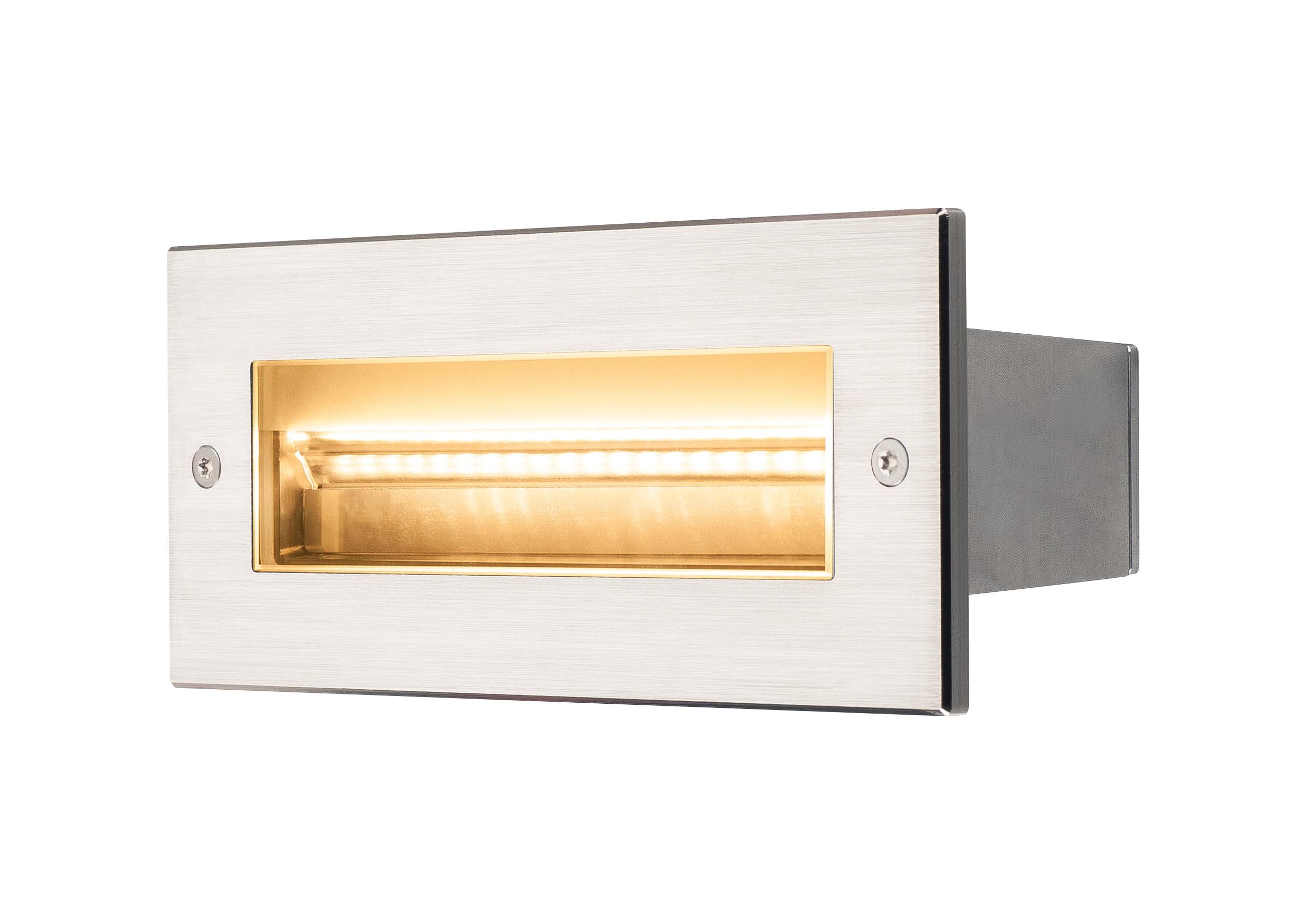 1 Stk BRICK Pro LED, Outdoor Wandeinbauleuchte, 230V, IP67, 850lm LI233661--