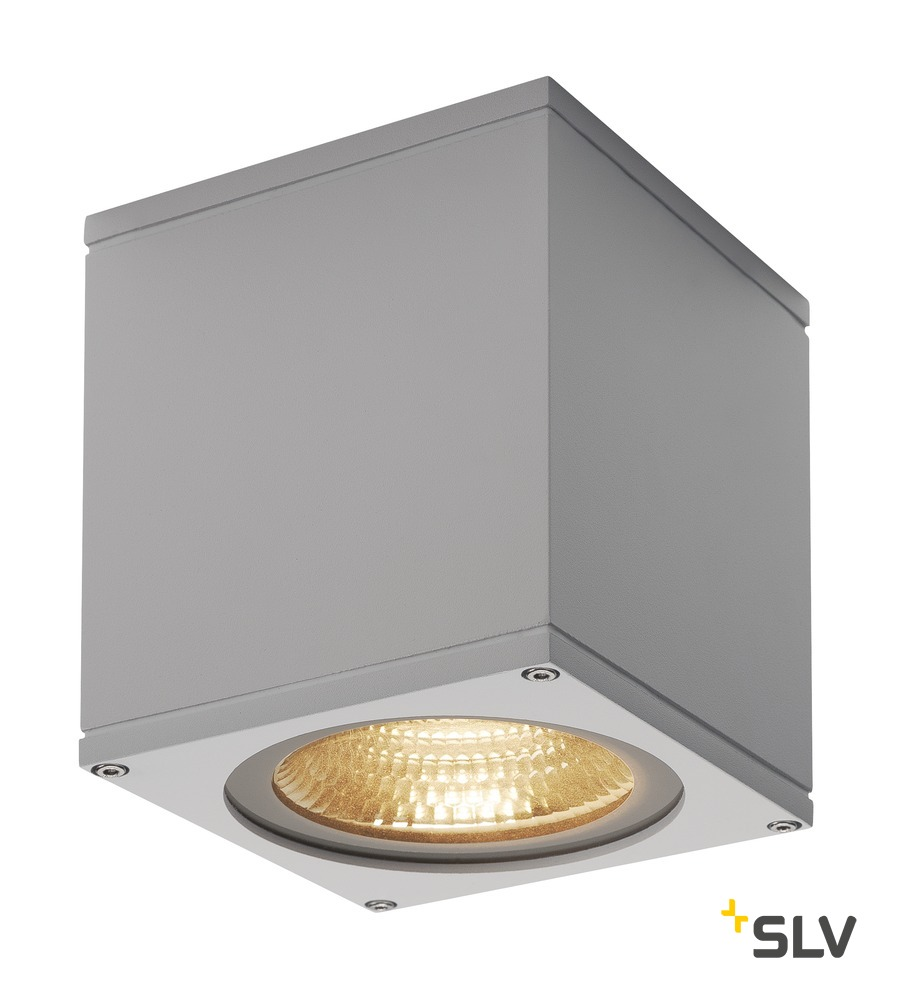 1 Stk BIG THEO CEILING, Outdoor Deckenleuchte, LED, silbergrau LI234534--