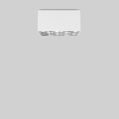 1 Stk BEGA 24059WK4 Deckenaufbauleuchte, weiß LI24059WK4