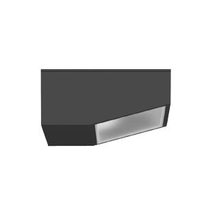 1 Stk BEGA 24089K3 Deckenaufbau-Tiefstrahler LI24089K3-
