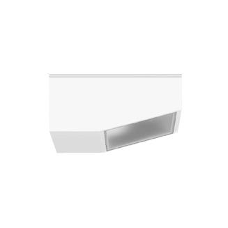 1 Stk BEGA 24089WK4 Deckenaufbau-Tiefstrahler, weiß LI24089WK4