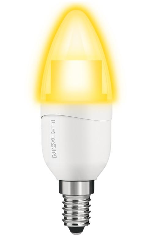 1 Stk LED Lampe B35 6W, 2700K, 400lm, matt, E14, 230V, Dim LI29001084