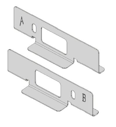 1 Stk LED Panel Wandhalterung für Aufbaurahmen, Serie Ledon LI29001097