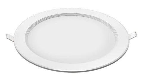 LED Flat Downlight 15W, 840, 1250lm, 110°,350mA,ohne Treiber