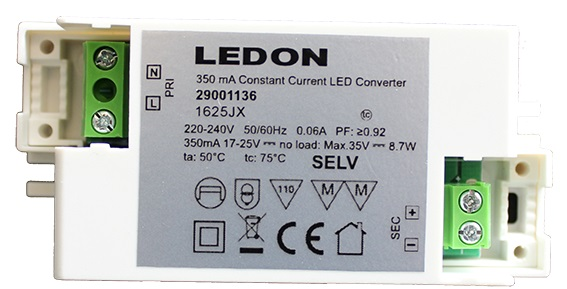 1 Stk LED Treiber For 10W, 220-240V CC 350mA LI29001136