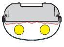 1 Stk Parabolreflektor breitstrahlend für Linda 2-36W 160mm LI2JLI0407