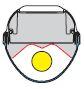 1 Stk Parabolreflektor tiefstrahlend für Linda 1-18W 100mm LI2JLI0424
