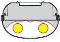 1 Stk Parabolreflektor tiefstrahlend für Linda 2x28/54W LI2JLI0677