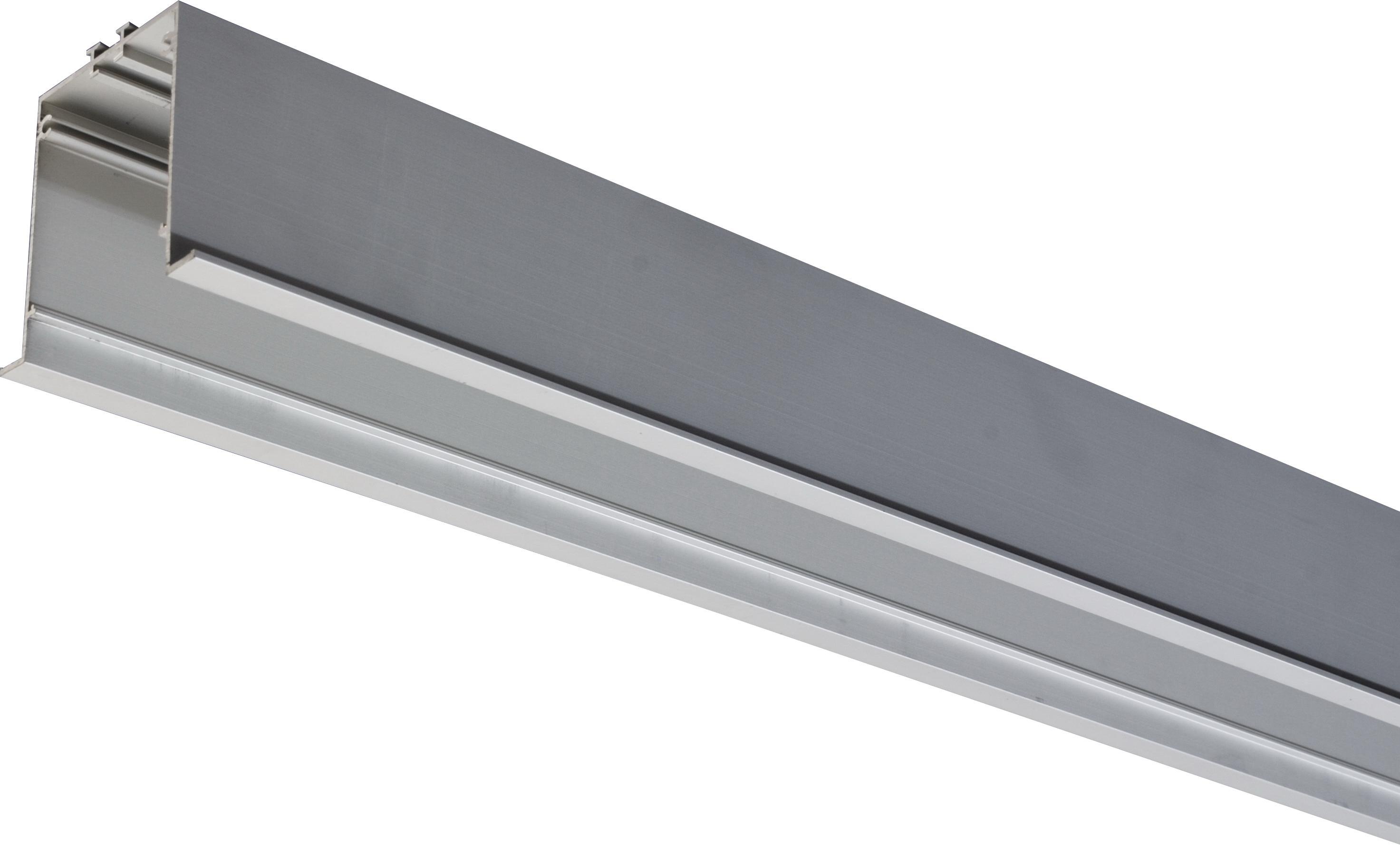 1 Stk KVADRA-R70M Aluminiumprofil Einbau eloxiert L-2990mm LI35000012