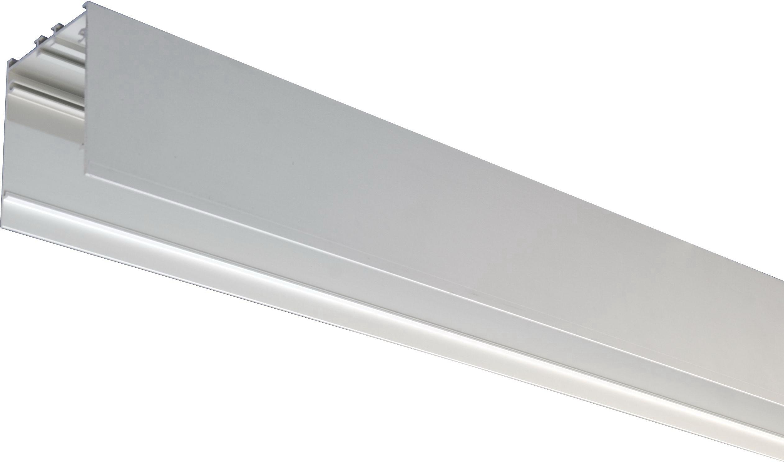 1 Stk KVADRA 70M Aluminiumprofil Anbau eloxiert L-2970mm LI35000015