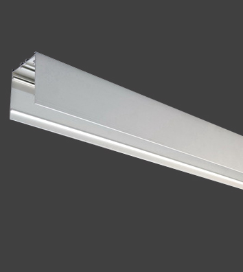 1 Stk KVADRA 70M Aluminiumprofil Anbau eloxiert L-2990mm LI35000017