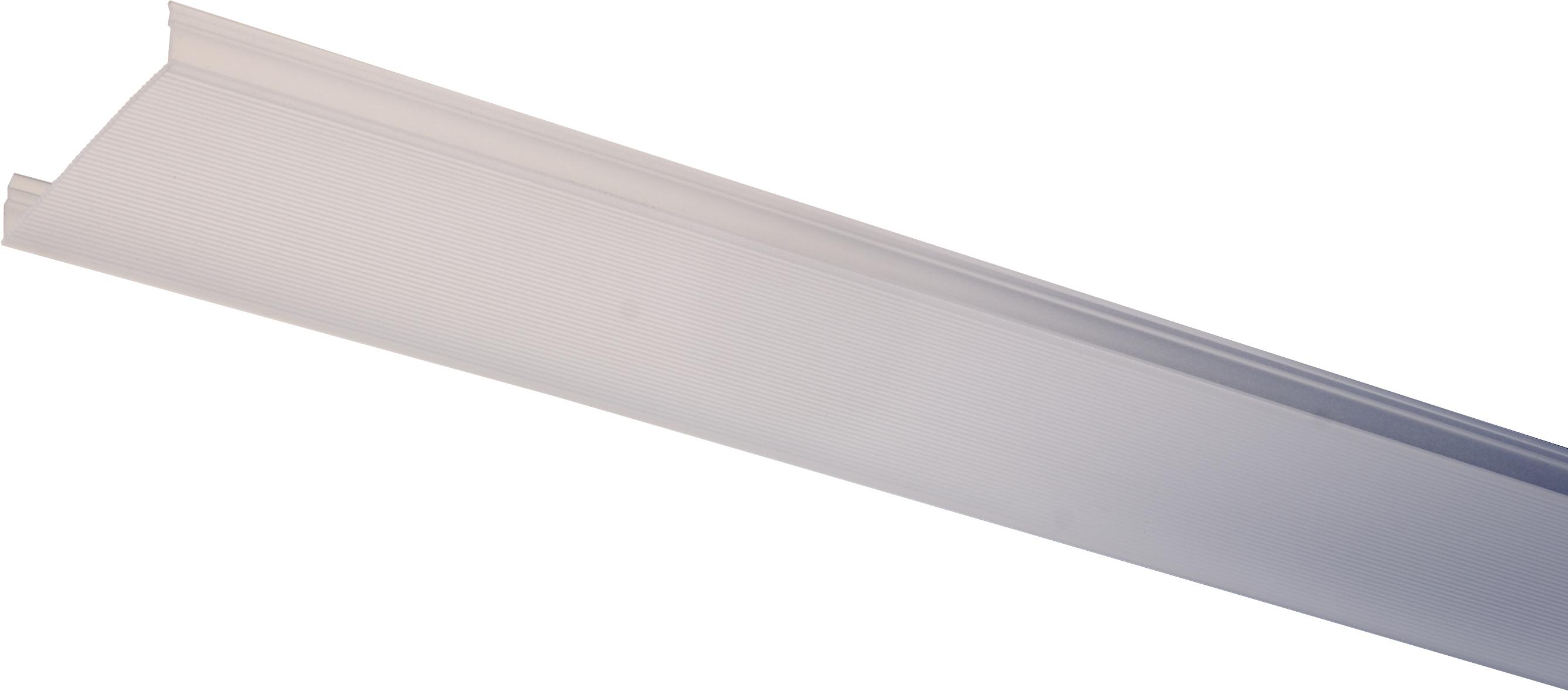 1 Stk LINEA-80M Polykarbonatabdeckung Satine mit Rillen l=2969mm LI35000201