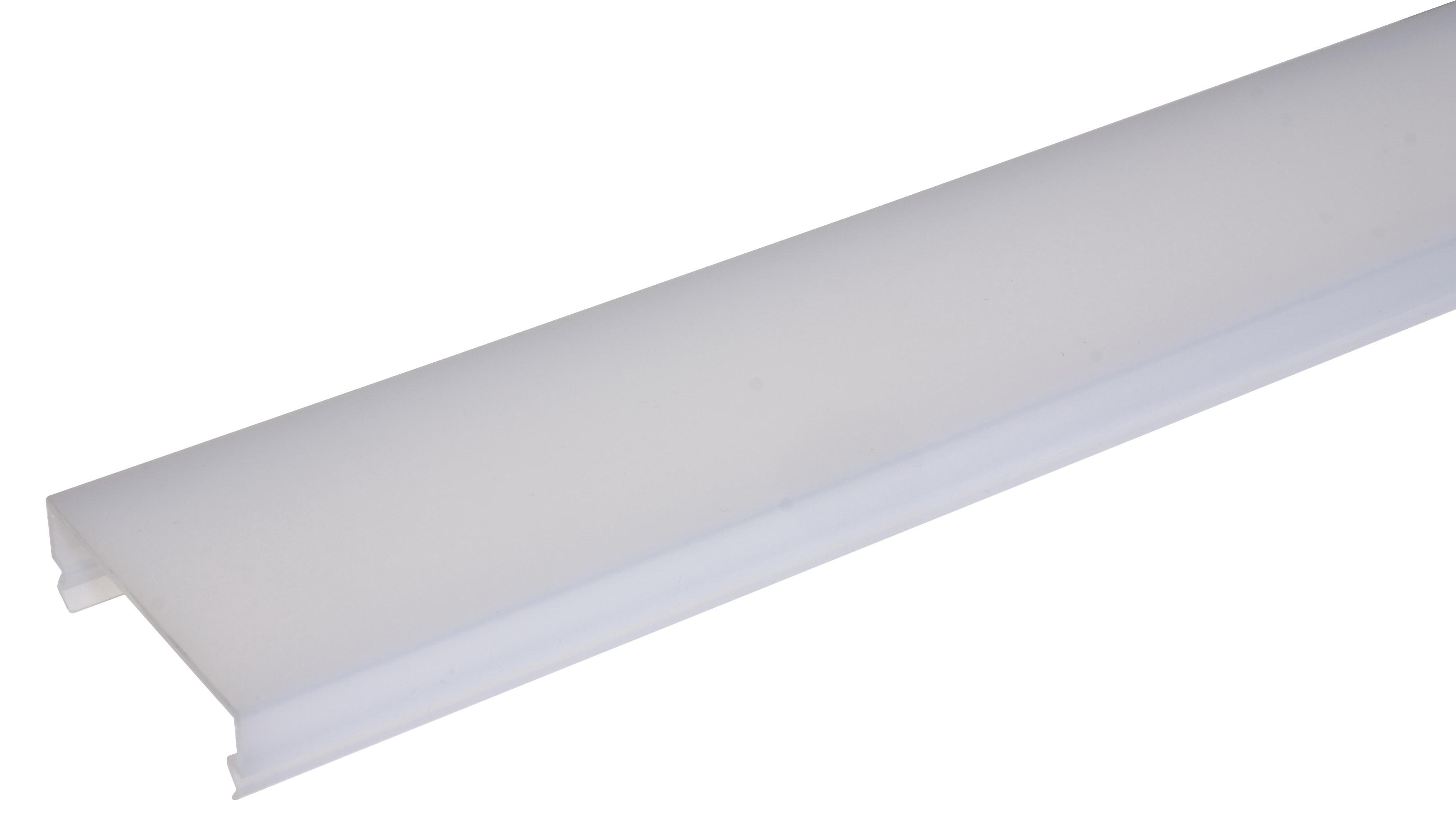1 Stk LINEA-80M Polykarbonatabdeckung Opal l=2969mm LI35000202