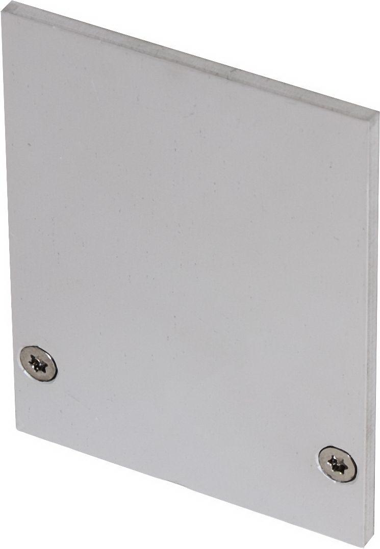 1 Stk LINEA-80M K1 Enddeckel eloxiert (1 Stück) LI35000205