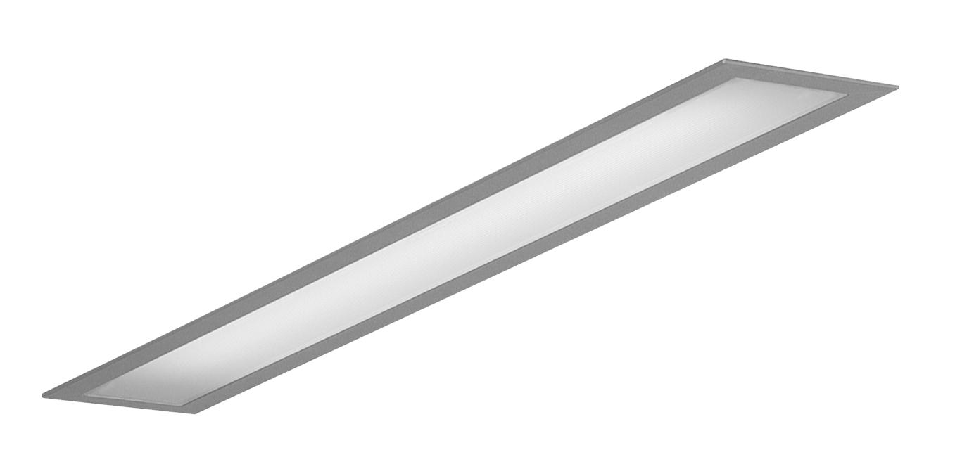 1 Stk Kvadra-R70 1x35/49/80W QTI, opal, Aluminium Einbauleuchte LI35KVP180