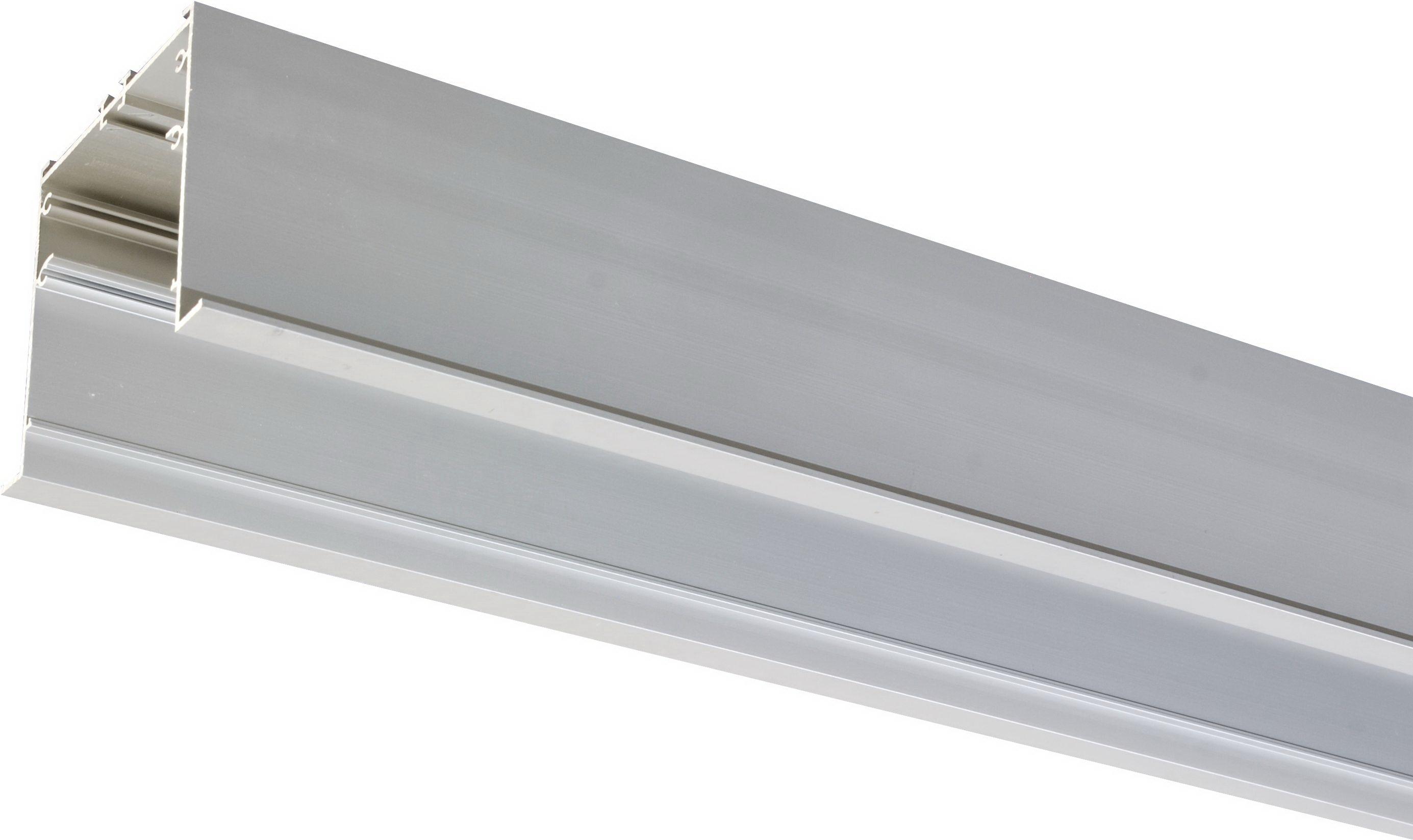 1 Stk LINEA-R80M Einbauprofil Aluminium eloxiert l=2970mm LI38000200