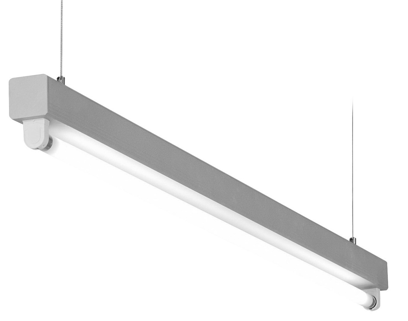 1 Stk Lucie T5 1x14/24W Aluminium Lichtleiste, QTI, EVG LI38LUC124