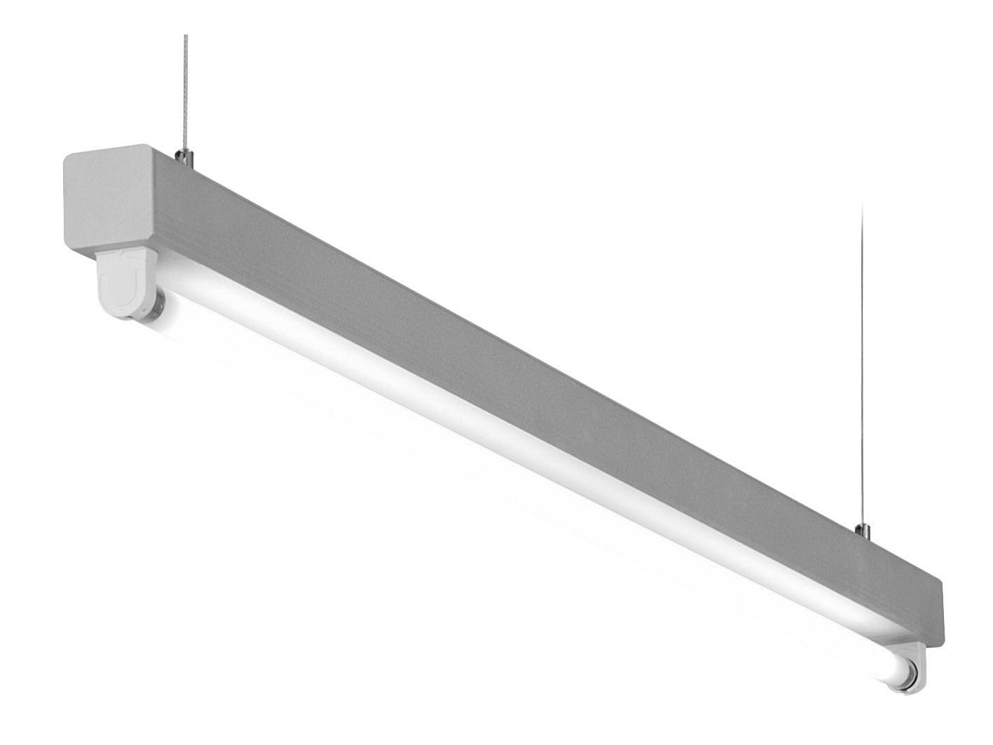 1 Stk Lucie T5 1x21/39W Aluminium Lichtleiste, QTI EVG LI38LUC139