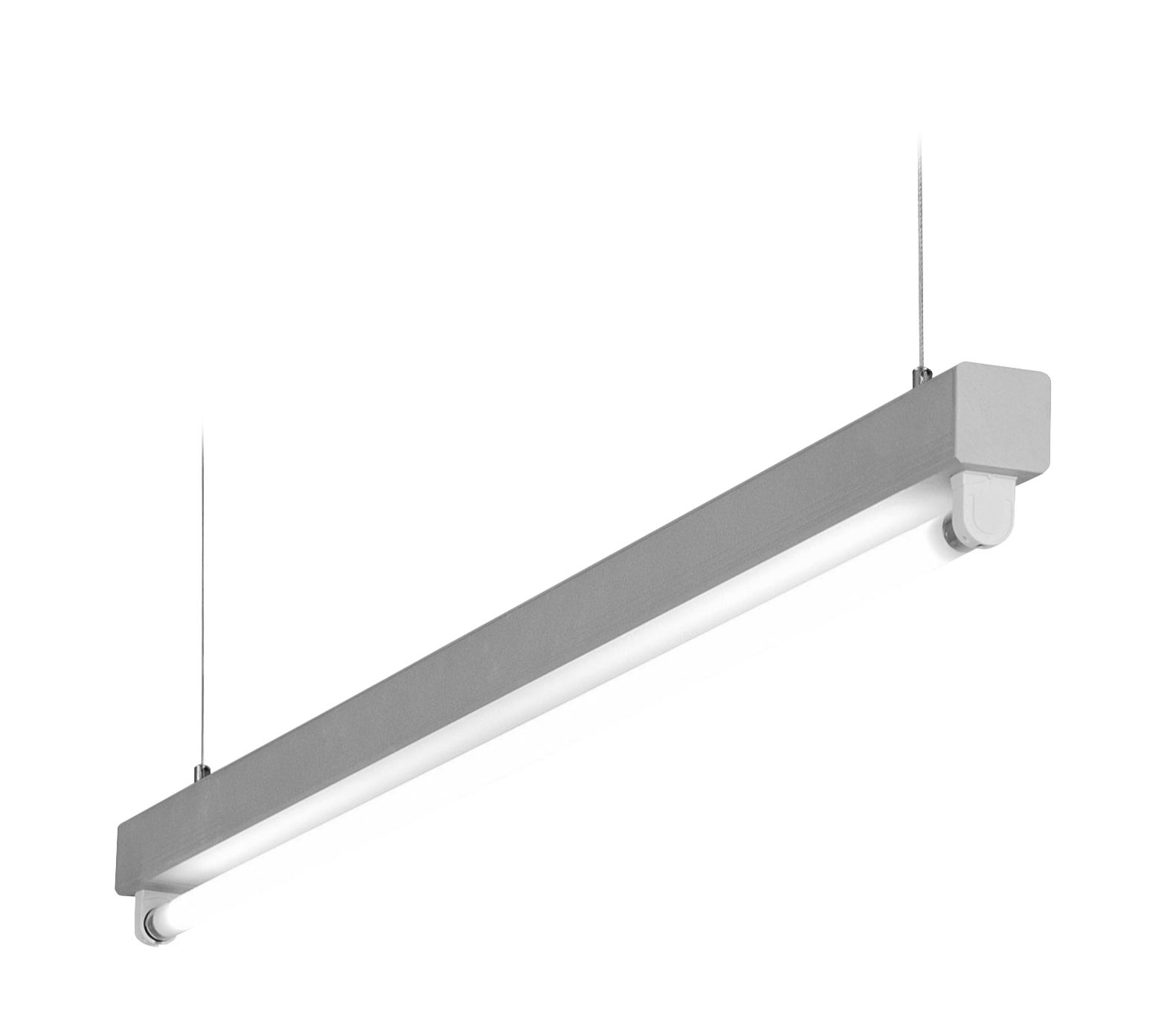 1 Stk Lucie T5 1x28/54W Aluminium Lichtleiste, QTI EVG LI38LUC154