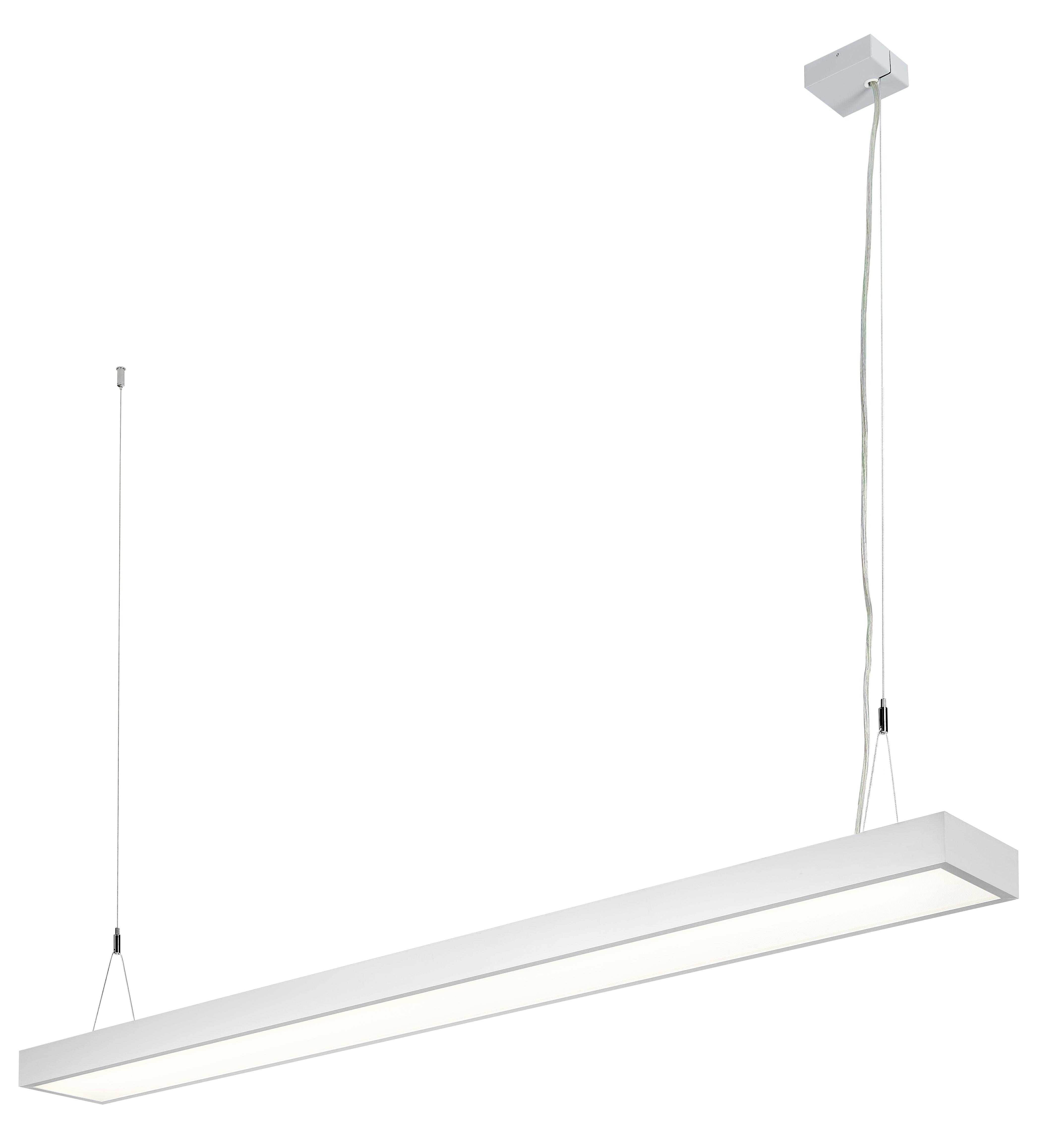 1 Stk Office LED D/I 86W, 4000K 9735lm, DALI, eloxiert L-1,5m LI38OF0061