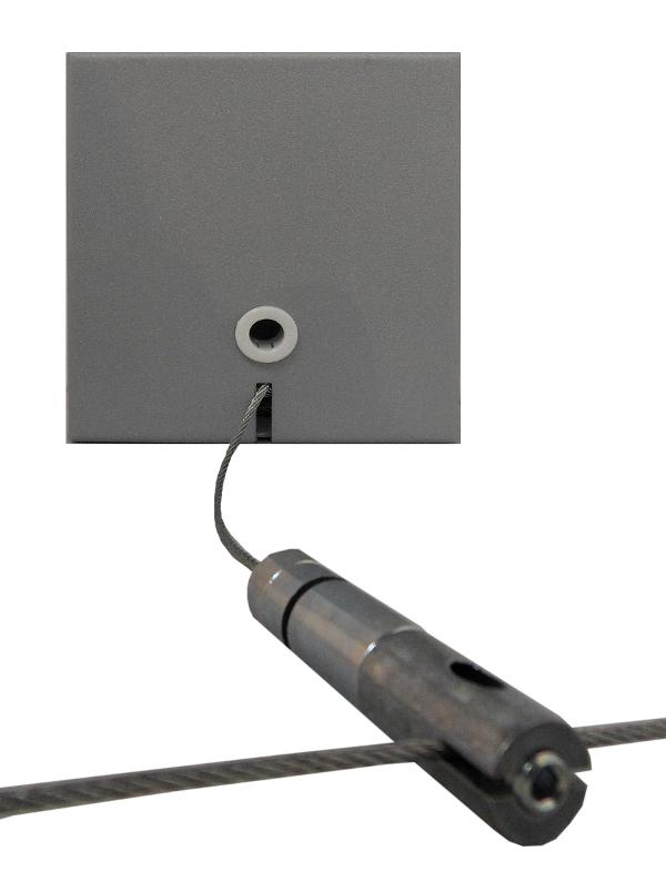 1 Stk Rosette für Office mit Y-Seilabhängung 1,2m, verstellbar LI38OFFROS