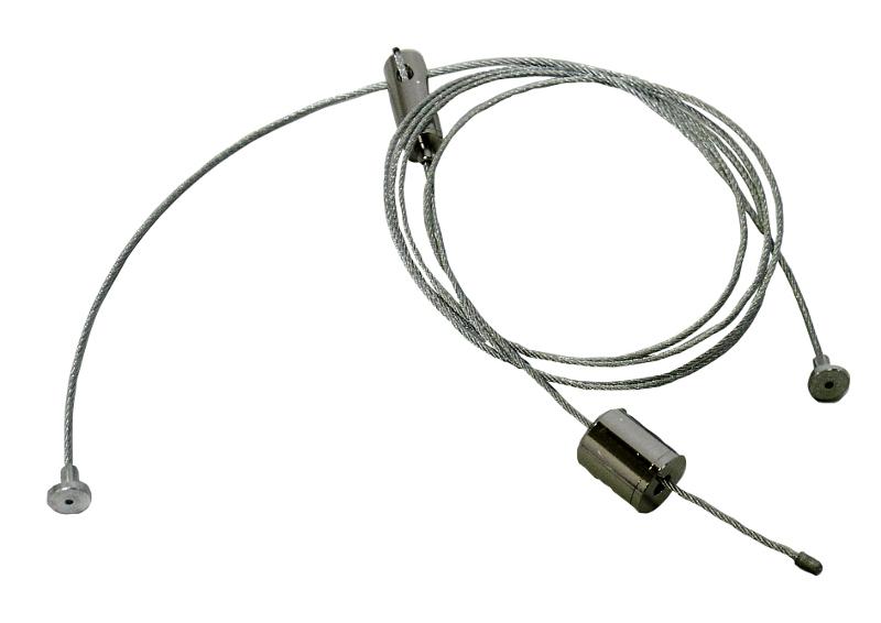 1 Stk Y-Seilabhängung 1200mm für Office verstellbar LI38OFSABH