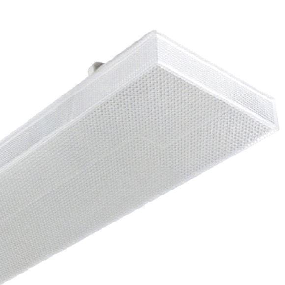 1 Stk Zero LED 2x9W, 4000K, 2674lm, Ra>80, IP40, prisma, weiß LI3FZ12501