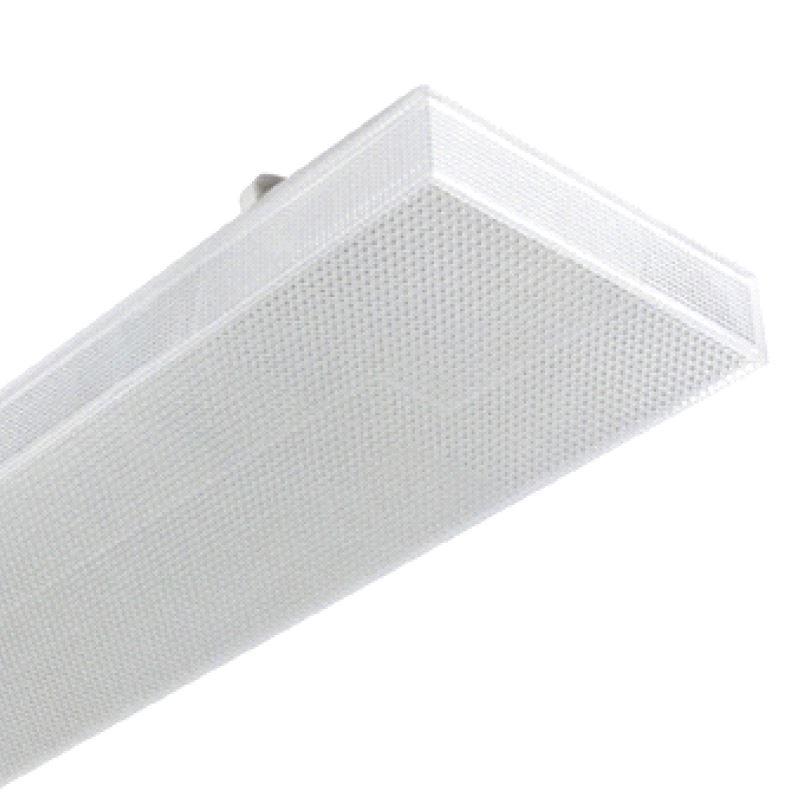 1 Stk Zero LED 2x18W, 4000K, 5352lm, Ra>80, IP40, prisma, weiß LI3FZ12503