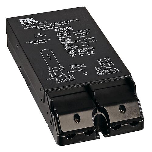 1 Stk EVG HID für CDM 150W, 230V, inkl. Zugentlastung LI470380--