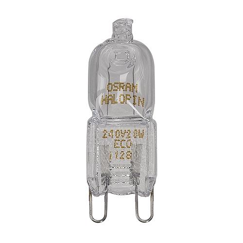 1 Stk OSRAM Leuchtmittel HALOPIN Eco G9, 48W LI519452--