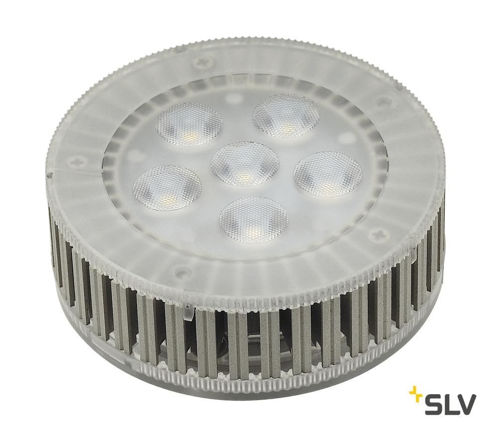 1 Stk GX53 LED Leuchtmittel, 7,5W, 3000K, 450lm, 25°, 6 SMD LED LI550082--