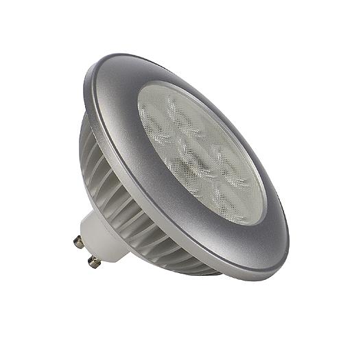 1 Stk ES111 LED, 6W, 3000K, 650lm, 36°, silbernes Gehäuse LI550352--