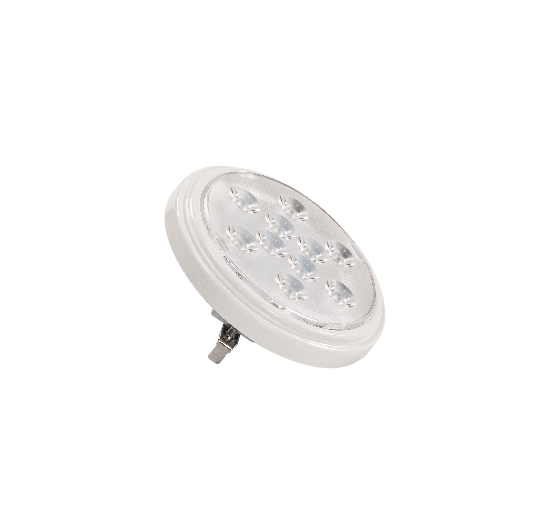 1 Stk LED QR111 G53 Leuchtmittel, 13°, white, 2700K, 800lm  LI560632--