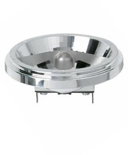 1 Stk QR-LP 111 ECO 60W FL 24° G53, NV-Aluminium-Reflektorlampe LI5U786094