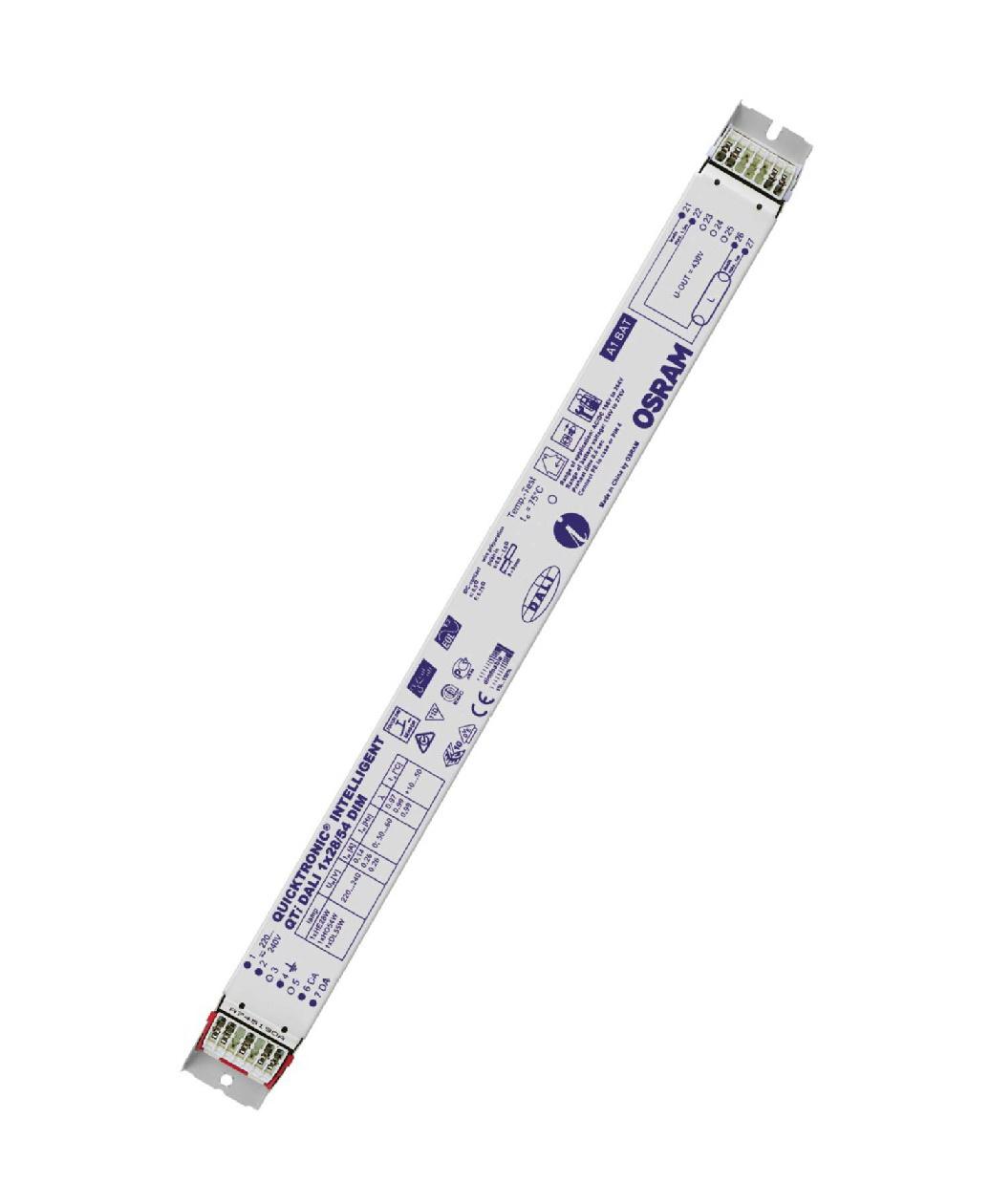 1 Stk EVG QTIDALI 2x28/54/220-240 für T5 dimmbar DALI LI5Z870502
