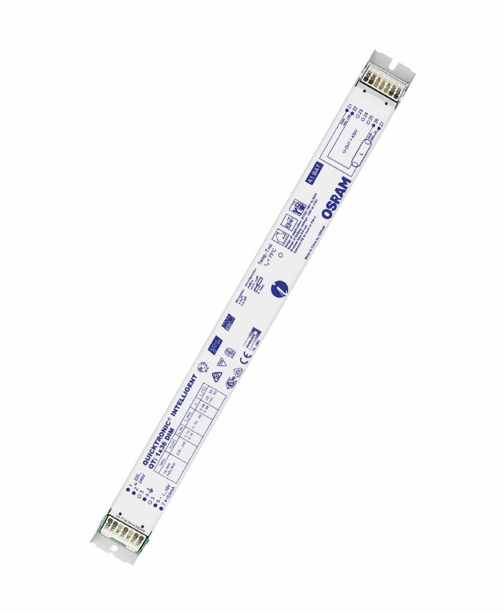 1 Stk EVG QT 1x36/220-240 für T8 dimmbar 1-10V LI5Z870625