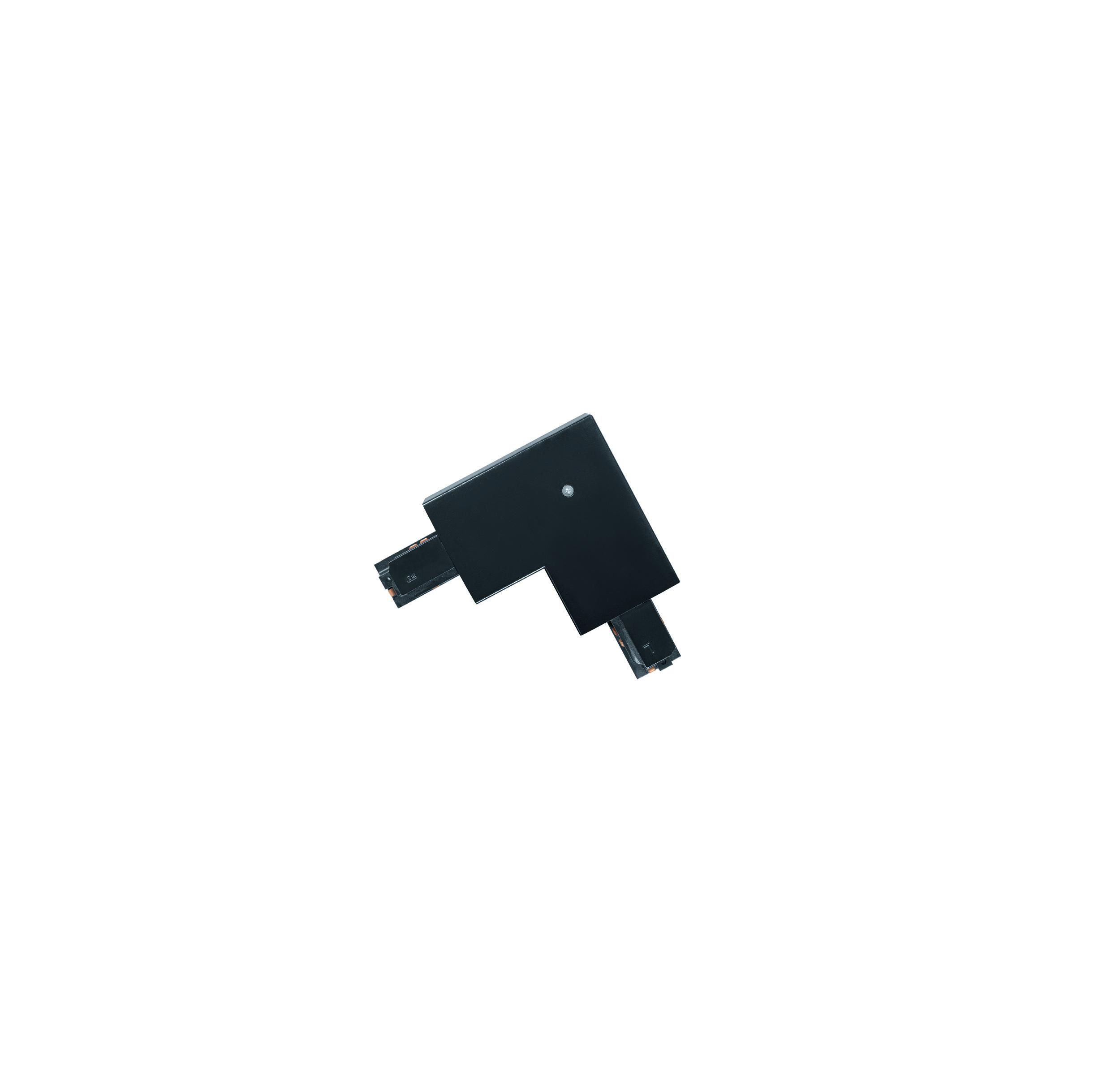 1 Stk 3-Phasen 90° Verbinder Einbau schwarz, Kunststoff, innen LI60744---