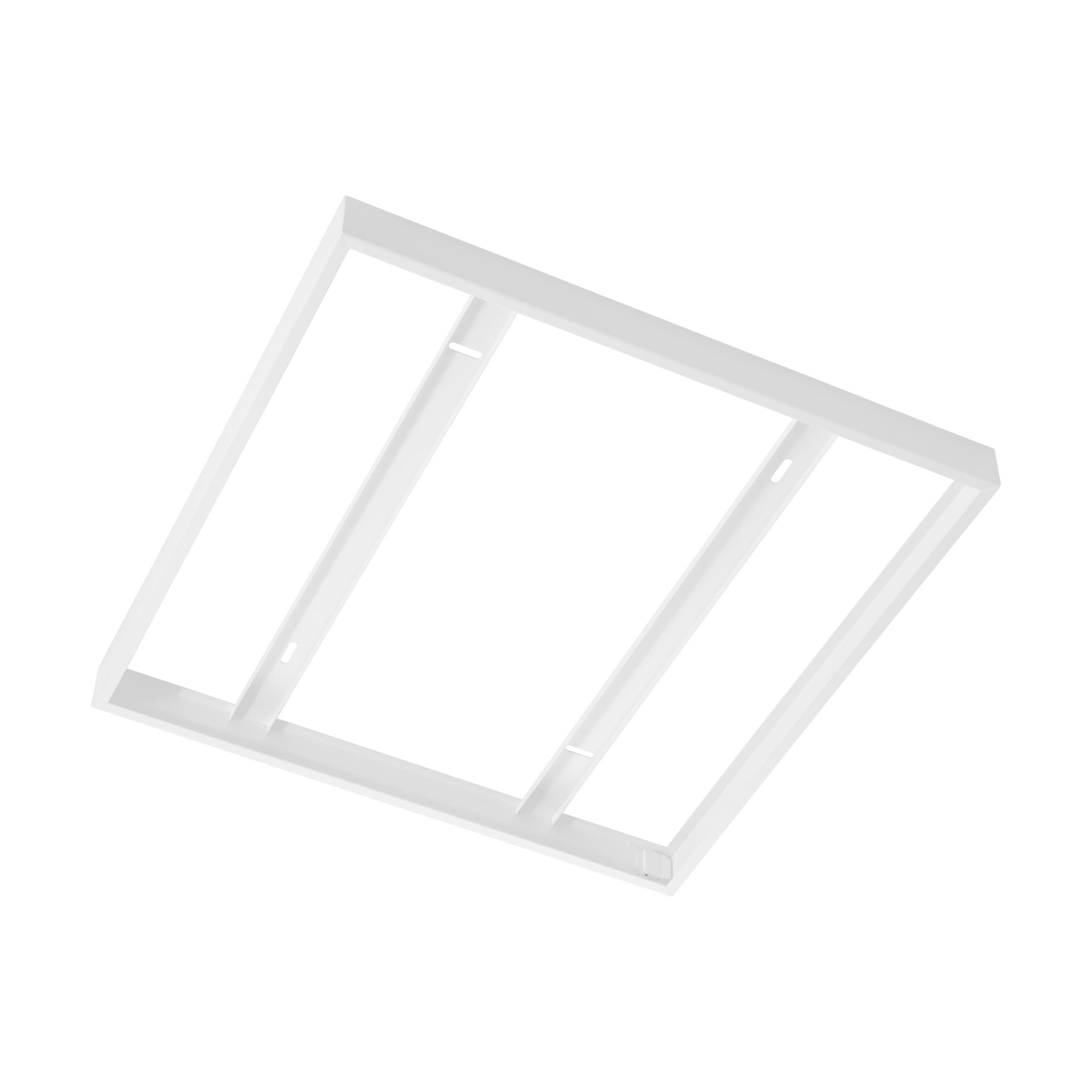 1 Stk Aufbaurahmen für Salobrena 1 595 / 620 weiß  LI61358---