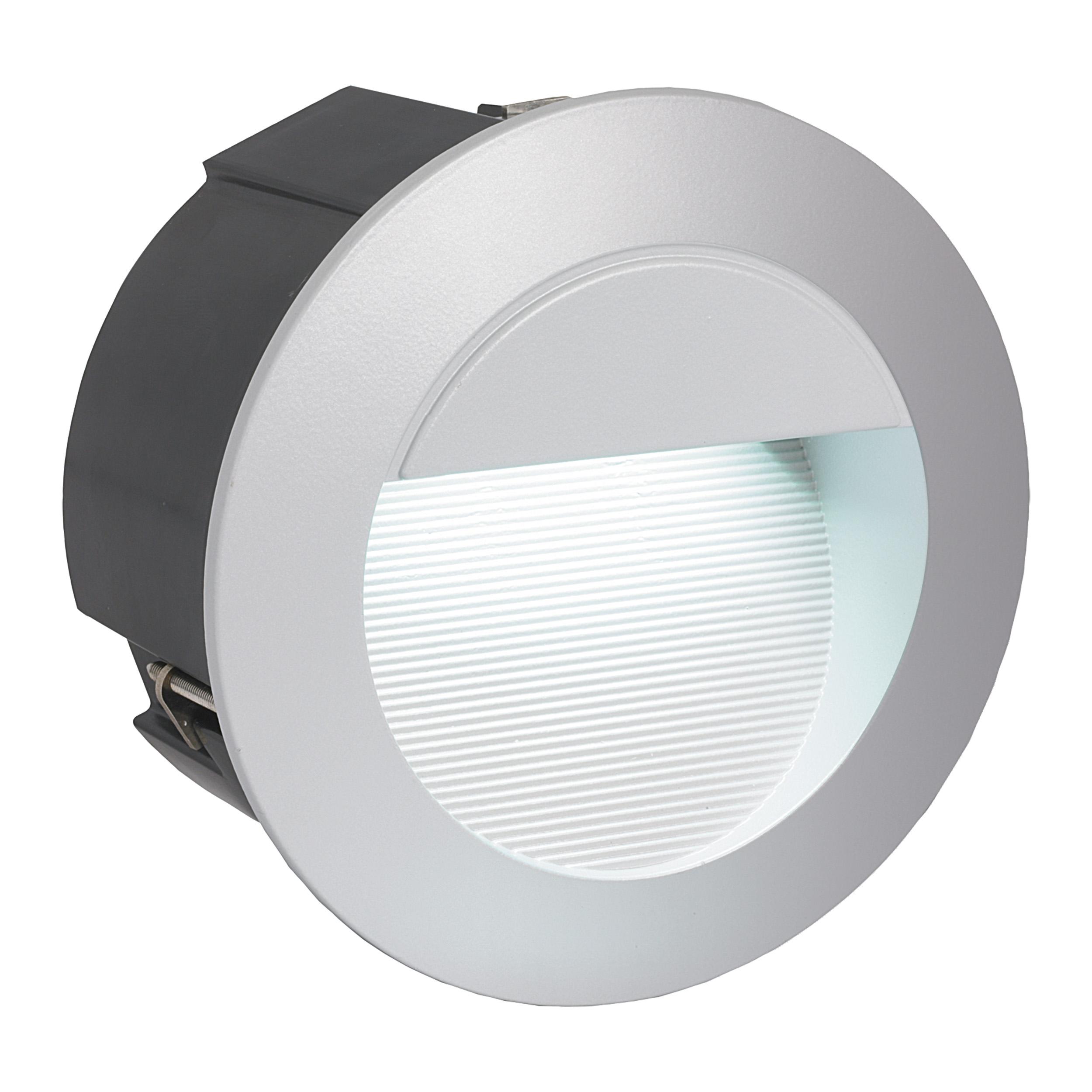 1 Stk Wandeinbauleuchte Zimba-LED 4000K silber LI61767---